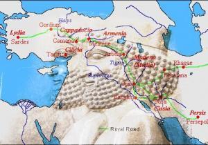 Royal Caravanserais in Achaemenid Era